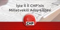 Seçim 2015 – CHP'nin il il milletvekili adayları açıklandı !