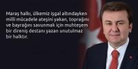 Kahramanmaraş Belediye Başkanı Erkoç'tan 5 Nisan Madalya Günü Mesajı