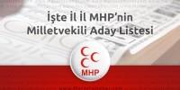 Seçim 2015 – MHP'nin il il milletvekili adayları açıklandı !
