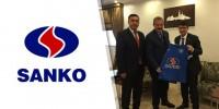 Sanko Holding'ten Kahramanmaraş Büyükşehir Belediyespor'a Destek