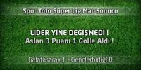 Galatasaray 1 – Gençlerbirliği 0 Maçın özeti ve golleri