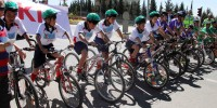 Kahramanmaraş'ta Okullar Arası Bisiklet Turnuvası İlgi Çekti