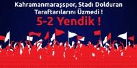 Kahramanmaraşspor: 5 – Pazarspor: 2 maçın özeti ve goller