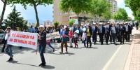 Kahramanmaraş'ta Engelliler İçin Yürüyüş Yapıldı