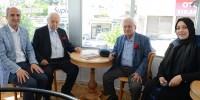 İki Güzel İnsan Pakdil ve Özdenören Kahramanmaraş Kitap Kafe'de!