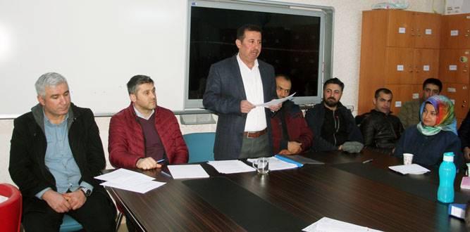 Osman Gazi Ortaokulunda Öğretmenler Kurulu Yapıldı