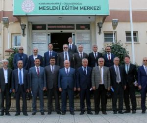 Dulkadiroğlu Mesleki Eğitim Merkezinde İlçe Eğitimi Değerlendirildi