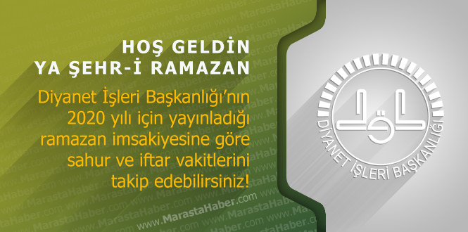 Osmaniye ve ilçeleri 2020 ramazan imsakiye – Diyanet imsakiyesi namaz, iftar vakti ve sahur saati kaçta