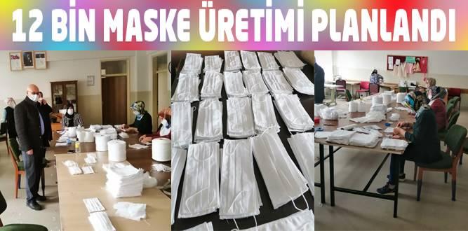 Kahramanmaraş HEM'den Cerrahi Maske Üretimi