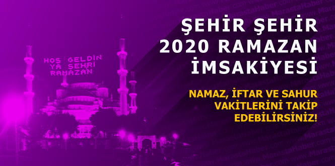 Zonguldak ramazan imsakiye 2020 diyanet iftar vakti ve sahur saati