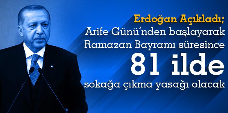 Erzurum ilinde ramazan bayramında sokağa çıkma yasağı var mı ramazan bayramı ne zaman başlıyor