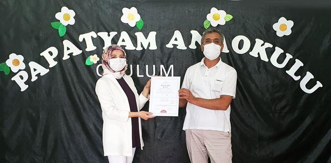 Elbistan'da Temiz Okul Papatyam Anaokulu