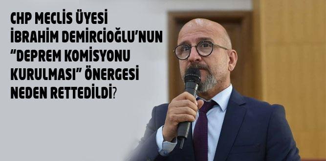 Dulkadiroğlu Belediyesinden Deprem Komisyonuna Ret