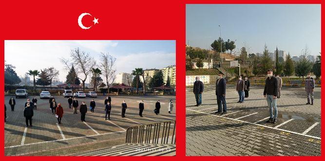 İstiklal Marşımız Okullarımızda Yankılandı