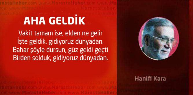 AHA GELDİK