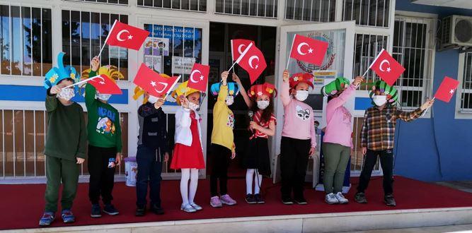 Süreyya Güneş Anaokulunda 23 Nisan Ulusal Egemenlik ve Çocuk Bayramı etkinliği