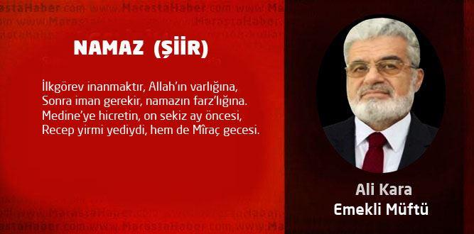 NAMAZ(ŞİİR)