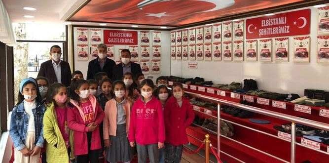 Şehit Emanetleri Müzesine Ziyaretçi Akını