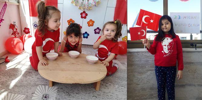 Ahmet Bayazıt İlkokulu 1/C Sınıfının 23 Nisan Gösterileri