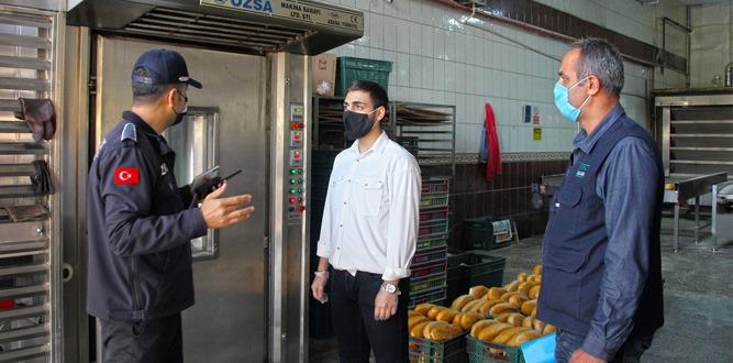 Fırınlara Pandemi Denetetimi