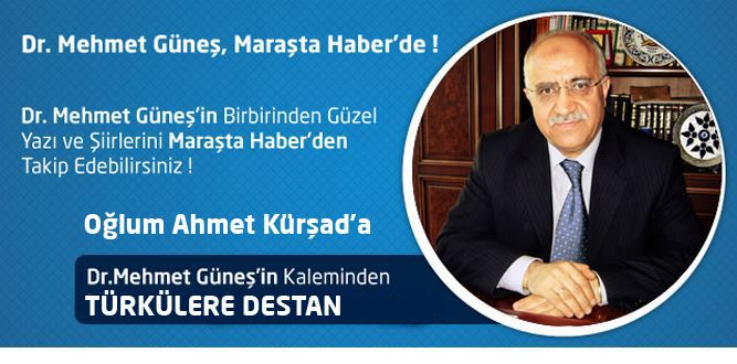 TÜRKÜLERE DESTAN Oğlum Ahmet Kürşad'a