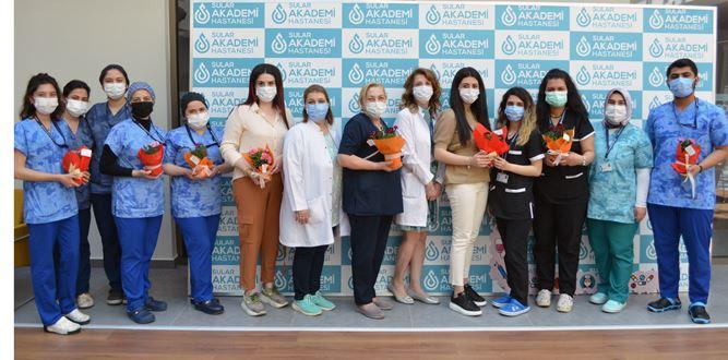 Sular Akademi Hastanesi'nde Hemşireler Günü