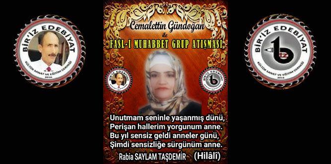 Biriz Edebiyat Cemalettin Gündoğan İle Fasl-ı Muhabbet Grup Atışması 36