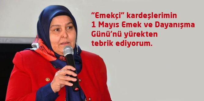 Milletvekili Habibe Öçal'dan 1 Mayıs Değerlendirmesi