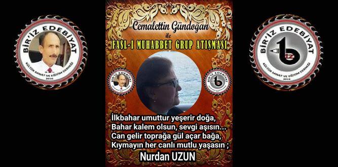 Biriz Edebiyat Cemalettin Gündoğan İle Fasl-ı Muhabbet Grup Atışması 37