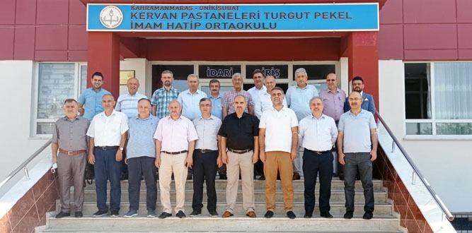 Kervan Pastaneleri Turgut Pekel İHO' okul tanıtımı yaptı