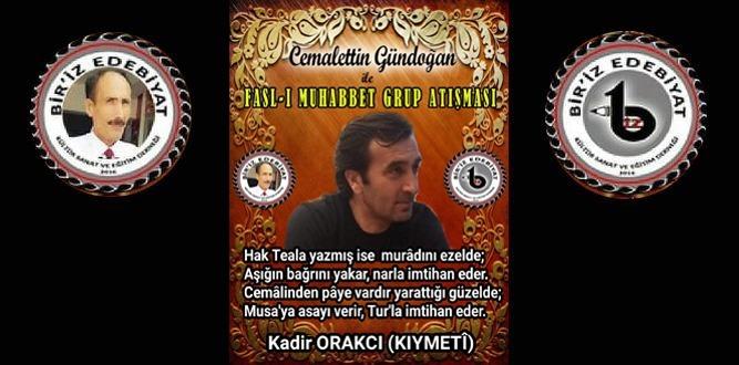 Biriz Edebiyat Cemalettin Gündoğan İle Fasl-ı Muhabbet Grup Atışması 38