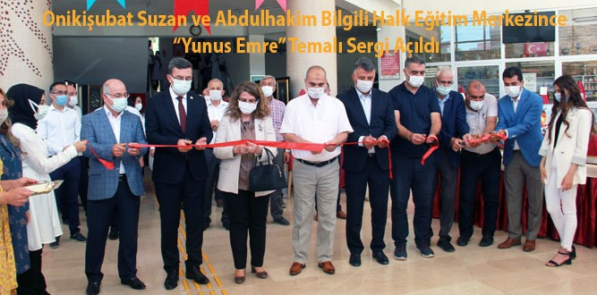 Kahramanmaraş'ta Yunus Emre' temalı sergi düzenlendi!