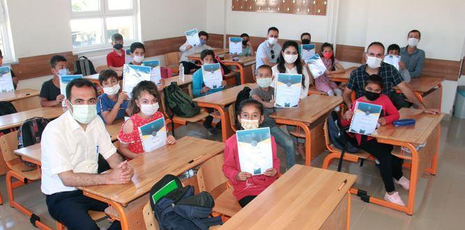 Pazarcık Yumaklı Cerit İlkokulu'nda (PIRLS), Kapsamında Teşekkür Belgesi