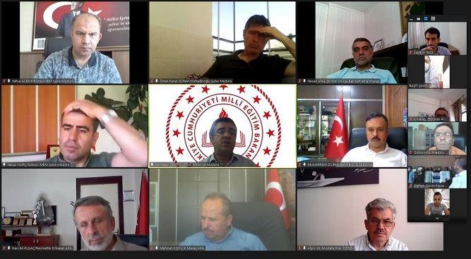 Proje İHAL müdürleriyle değerlendirme toplantısı