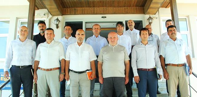 İlçe Millî Eğitim Müdürleri Toplantısı Gerçekleştirildi.