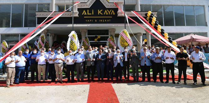 Ali Kaya Yapı ve İnşaat Firması Kahramanmaraş'ta Açıldı