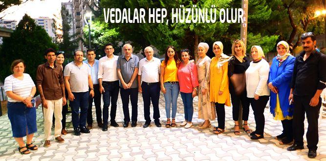 Dulkadiroğlu Kahramanmaraş HEM'de Veda Yemeği