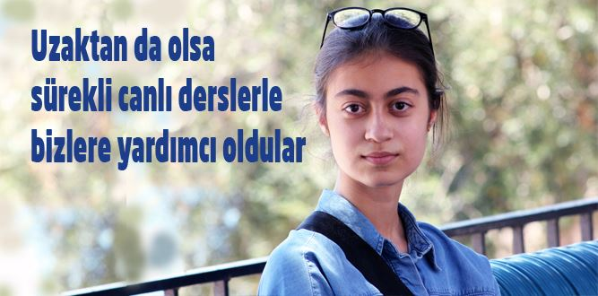 LGS Türkiye Birincisi Özge Alan'dan Mesajlar