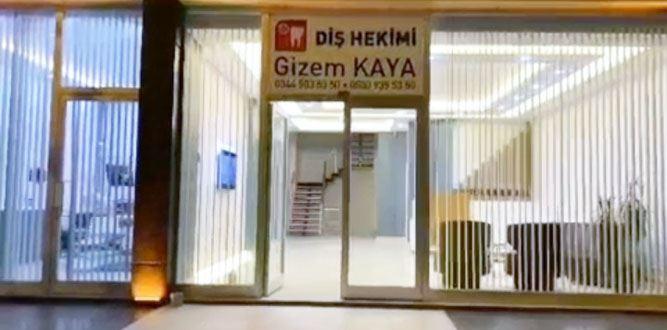 Diş Hekimi Gizem Kaya'nın Kliniği Hizmete Başladı