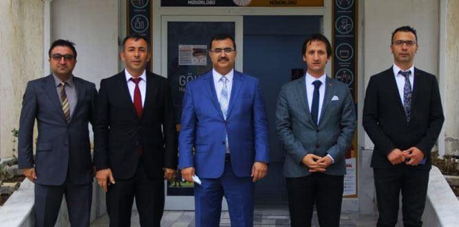 Kahramanmaraş İl Millî Eğitim Müdürü Yusuf Kahraman'ın Göksun Ziyareti.