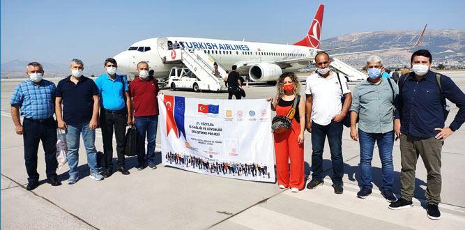 İş Sağlığı ve Güvenliğini Geliştirilmesi Yurt Dışı Eğitim Ziyareti