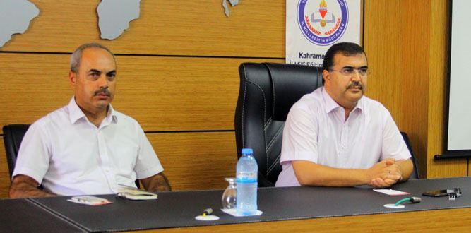 Kahramanmaraş'ta Maarif Müfettişler Toplantısı