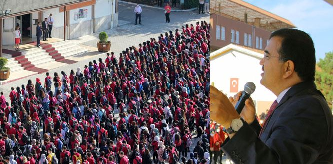 İl Millî Eğitim Müdürü Kahraman, Kahramanmaraş Anadolu Lisesinde