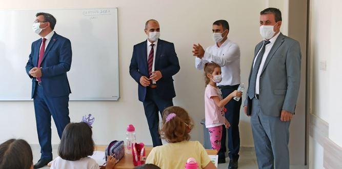 Onikişubat Kaymakamı Keçeli'den Okul Ziyareti