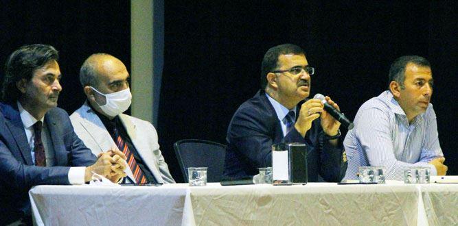 Onikişubat İlçesindeki okul müdürleriyle değerlendirme toplantısı yapıldı