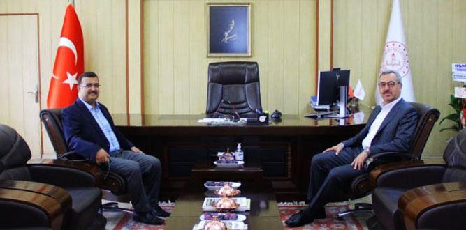 Büyükşehir Belediye Başkanı Güngör'den hayırlı olsun ziyareti