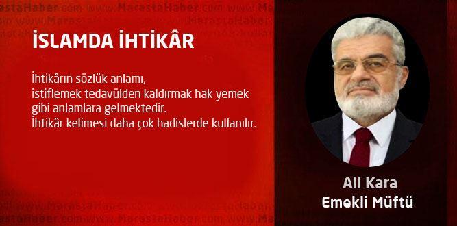 İSLAMDA İHTİKÂR