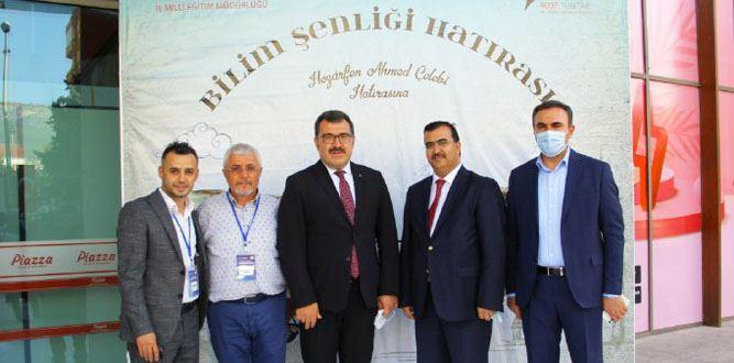 TÜBİTAK Başkanı Mandal, Kahramanmaraş'ta